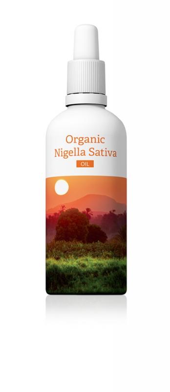Organic nigella sativa oil